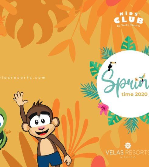 Libro con actividades para niños de Velas Resorts