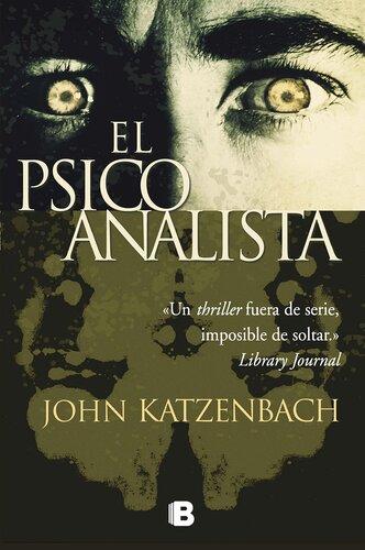 El Psicoanalista libro escrito por John Katzenbach