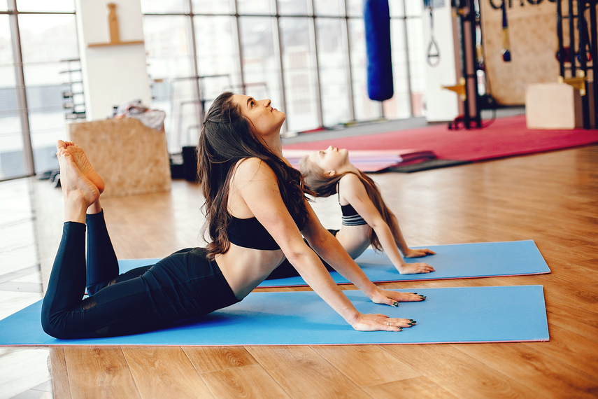 How To Do Yoga With Your Children Velas Magazine
