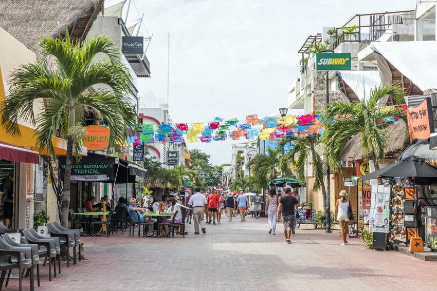 5ta Avenida en Playa del Carmen, Riviera Maya