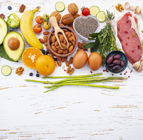 Flexitarian diet mostly based on fruits and vegetables