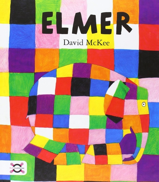 Elmer the patchwork elephant by David Mckee