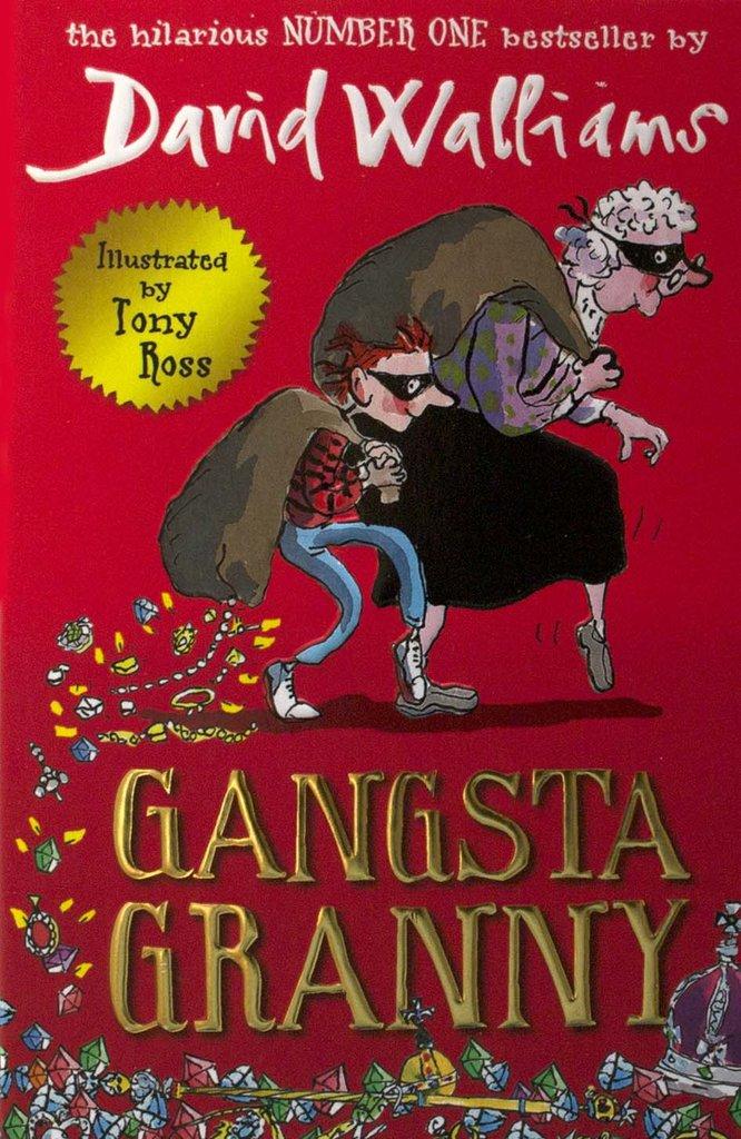 Gangsta Granny Book by David Walliams