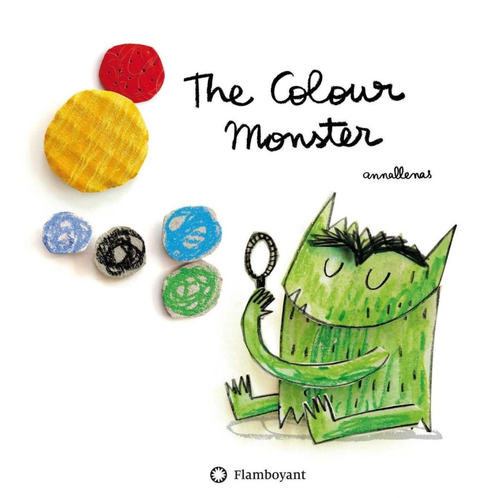 The Colour Monster Book by Anna Llenas