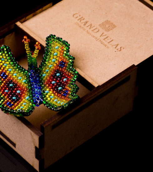 Huichol Butterflies in SE Spa at Grand Velas Riviera Nayarit