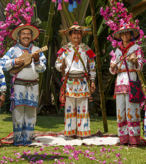 Huichol wedding ceremony at Grand Velas Riviera Nayarit