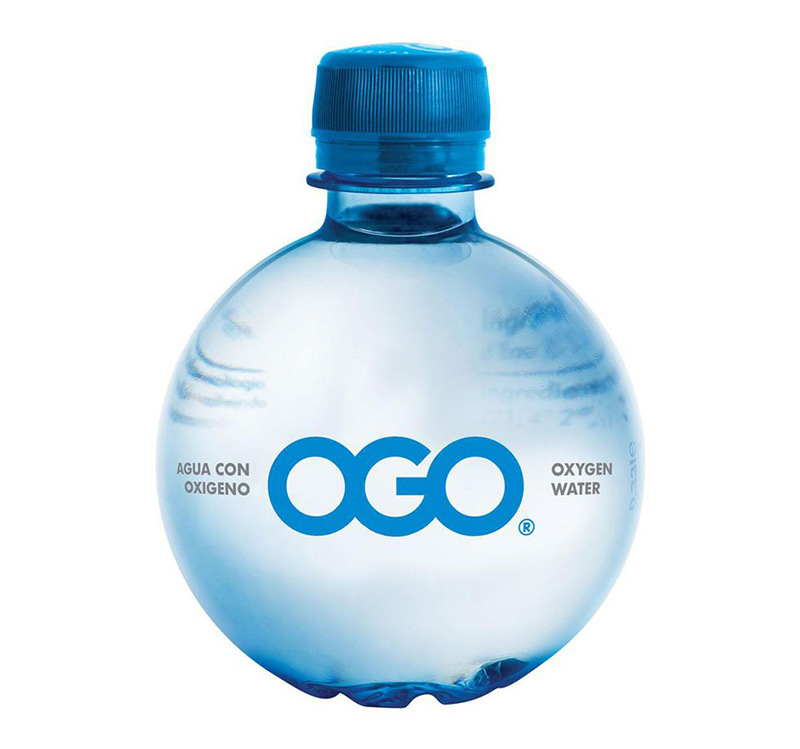 Ogo brand Oxygen Natural Water
