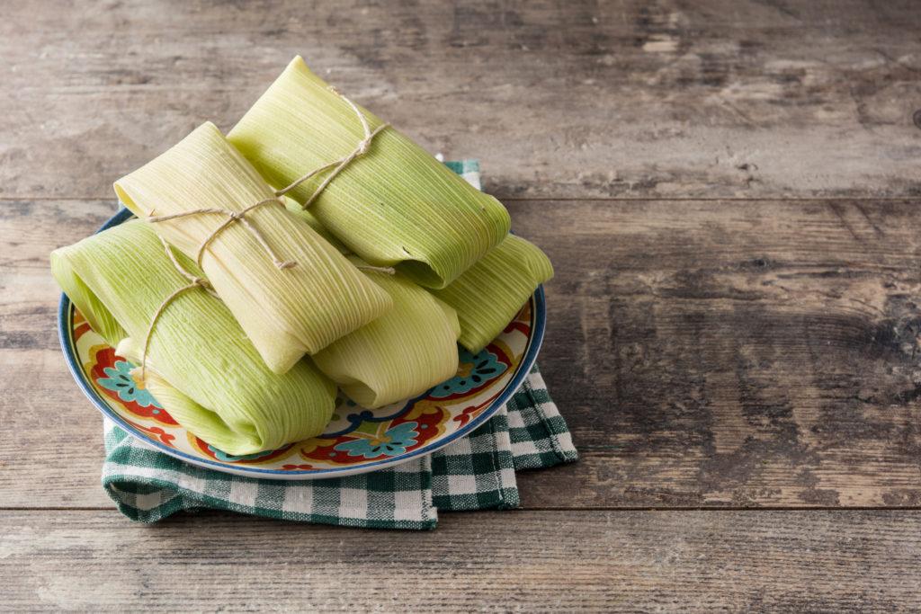 Tamales-elote