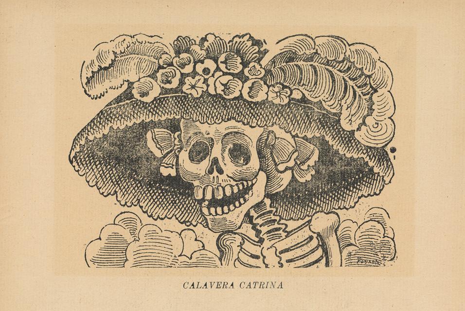Calavera Garbancera, literary calaveritas, tradition in Mexico's Día de Muertos celebration
