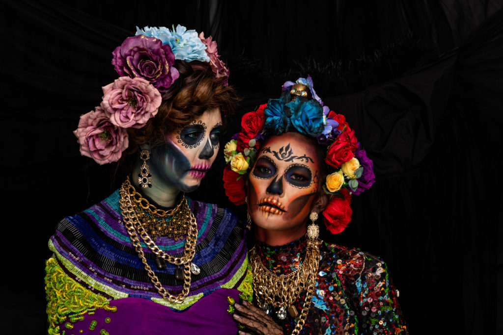 Day of the Dead catrina women costume
