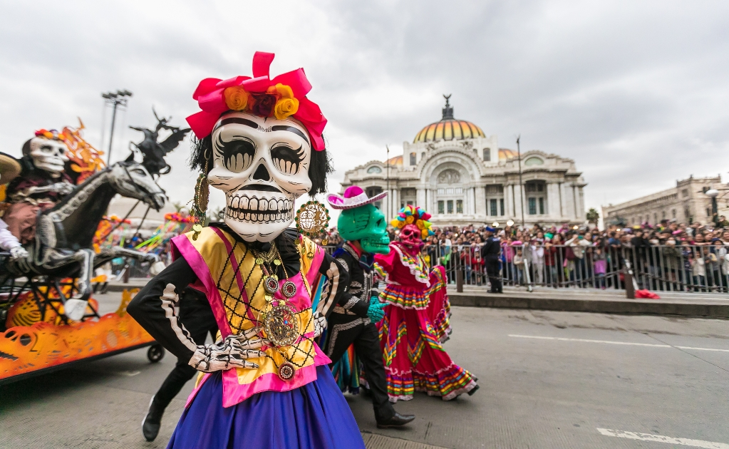 Desfile de Día de Muertos en Ciudad de México