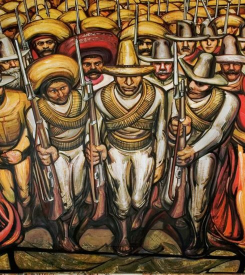 Mexican-Revolution-mural