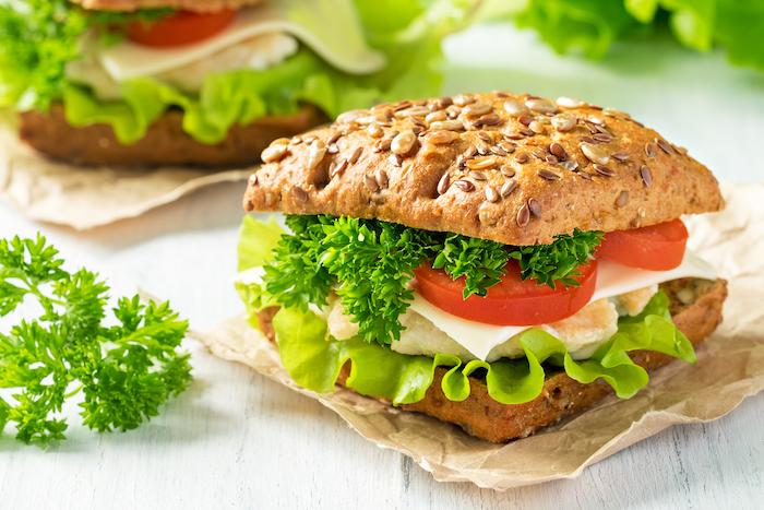 Sandwich-pollo
