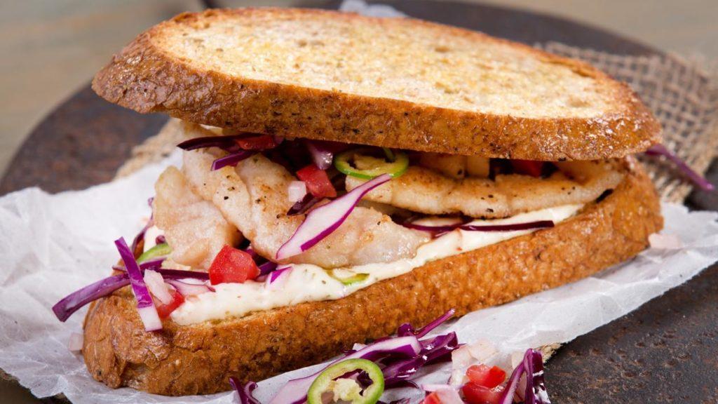 Sandwich-pescado