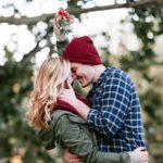 Mistletoe-kiss