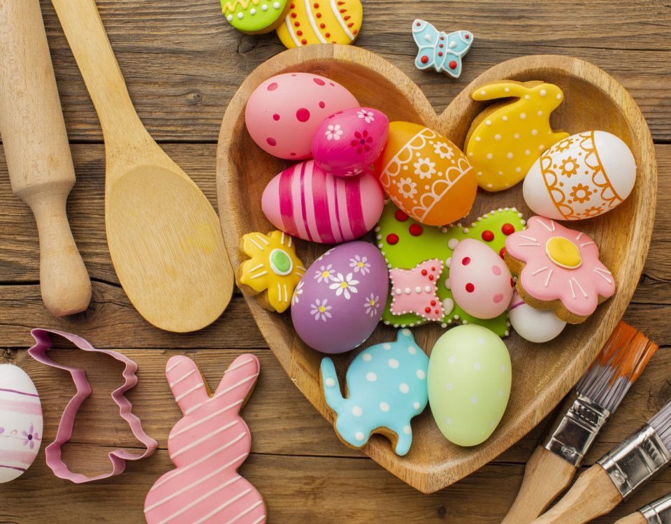 Original ideas to decorate your own Easter eggs