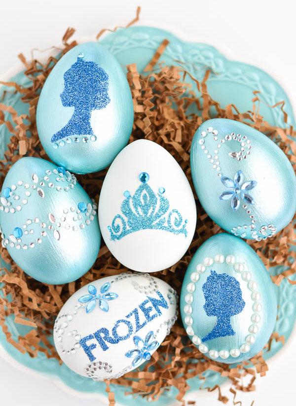 Cómo decorar tus huevos de Pascua de tus películas favoritas, Frozen